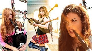 Download Shipping Up To Boston / Enter Sandman - Bagpipe Cover (Goddesses of Bagpipe) Video