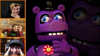 Download Let's Players Reaction To The Mr.Hippo Jumpscare/Story | Fnaf Ultimate Custom Night Video