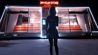 Download First shopping experience in China's unmanned retail store Video