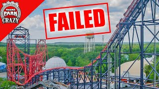 Download Failed Roller Coasters: Batman & Robin: The Chiller at Six Flags Great Adventure (Ep. 2) Video
