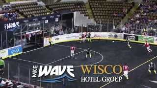 Download MKE Wave - Highlights vs Chicago Mustangs 1-10-15 Video