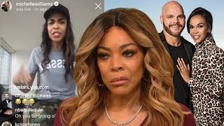 Download Michelle Williams Low Key Shades Wendy Williams 'My Man Is Faithful' Video