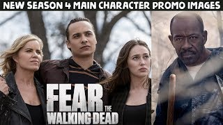 Download FearTWD Season 4 Multiple NEW Promo Images & Character Portraits! Video