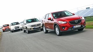 Download Tiguan, Kuga, ix35, CX-5 - Mazda CX-5 schlägt VW Tiguan Video