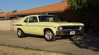 Download 1969 Chevrolet Chevy Yenko / SC Nova in Yellow & 427 Engine Sound on My Car Story with Lou Costabile Video