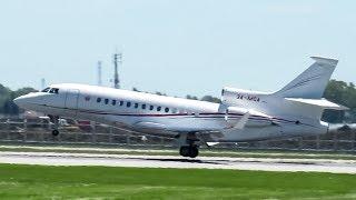 Download Government of Monaco Falcon 7X (FA7X) landing & departing Montreal (YUL/CYUL) Video