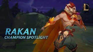 Download Rakan Champion Spotlight | Gameplay - League of Legends Video