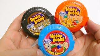 Download Hubba Bubba Bubble Tape - Mega Long 3x Cola, Orange Party & New Melone Fruit Gum Video
