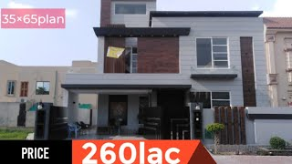 Download 10 Marla 35×65 brand new double story beautiful house 🏡 with 5 bedroom Video
