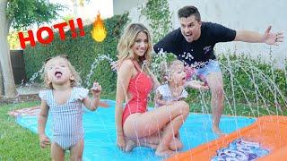 Download NEW FAMILY SUMMER SPLASH PAD! Video