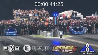 Download Nitrous vs Turbo Staging Dual at Lights Out 8!!! Video
