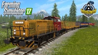Download Farming Simulator 17 Agricultural freight Train Video