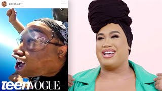 Download Patrick Starrr Reacts to His Old Instagram Photos   Teen Vogue Video
