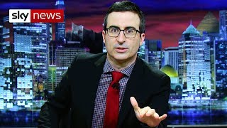 Download John Oliver on Trump, Brexit and fake news Video