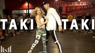 Download TAKI TAKI - DJ Snake, Cardi B, Ozuna & Selena Gomez Dance | Matt Steffanina & Chachi Video