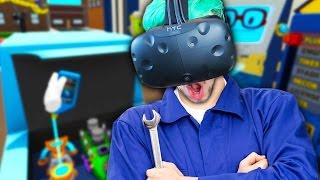 Download FIXER UPPER! | Job Simulator #3 (HTC Vive Virtual Reality) Video