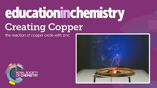 Download Creating copper – a displacement reaction demonstration Video