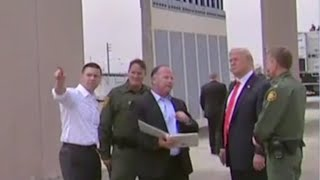 Download President Trump inspects border wall prototypes Video
