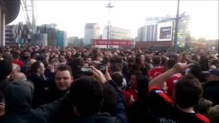 Download MAN UTD FANS AT WEMBLEY FULL TIME CELEBRATIONS TONY MARTIAL CAME FROM FRANCE Video