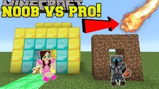 Download Minecraft: NOOB VS PRO!!! - NATURAL DISASTER SURVIVAL! - Mini-Game Video