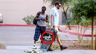 Download BLIND MAN DROPPING $1,000,000 PRANK!! Video