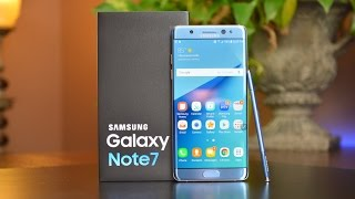 Download Samsung Galaxy Note 7: Unboxing & Review Video