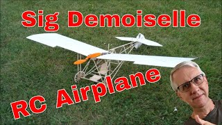 Download Sig's Demoiselle RC Plane Kit Video