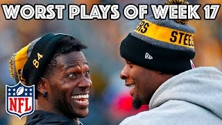 Download Worst Plays | Week 17 NFL Highlights Video