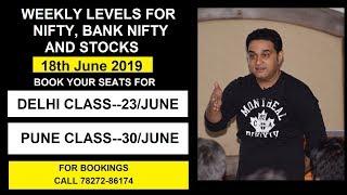 Download #VIPUL KAUSHIKK Live   Nifty and BankNifty Levels -18June  Delhi Class(23/6) Pune(30/6)7827286174 Video