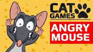 Download CAT GAMES - 🐭 ANGRY MOUSE (ENTERTAINMENT VIDEO FOR CATS) 60FPS Video