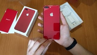 Download iPhone 7 Plus Product RED - Unboxing & Setup Video