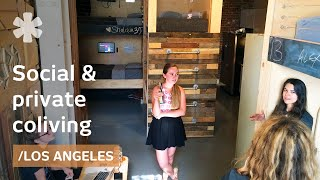 Download LA coliving: PodShare's permeable intersection between social/privacy Video