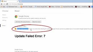 Download Google Chrome Error 7 Video