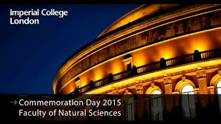 Download Commemoration day 2015 - Faculty of Natural Sciences Video