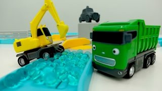 Download Tayo toys. Kids video with toy bus 🚌 toy truck 🚚& excavator for kids. Tayo toys videos #PlayToyTV. Video