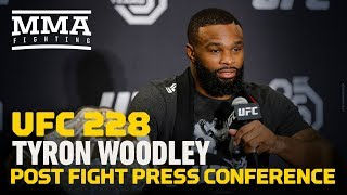 Download UFC 228: Tyron Woodley Post-Fight Press Conference - MMA Fighting Video