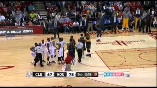 Download James Harden kicks LeBron in the nuts - Flagrant Foul! Cavs vs Houston (03.01.2015) Video
