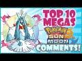 Download Top 10 Pokemon Sun and Moon Megas That YOU Want! | MEGA EVOLUTION Wish List! | CWpoke Top 10 Video