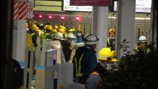 Download 川越駅ホームドア設置工事の様子 上り線1番線 終電間際~設置完了まで Video