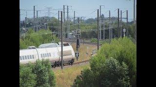 Download des trains qui passent : Quand l'AVE se prend une tôle à Manduel Video