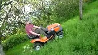Download Husqvarna LT 151 Rasentraktor Erstschnitt Mai 2012 Video