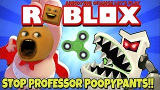Download Annoying Orange Plays - ROBLOX: Stop Professor Poopypants!! Video