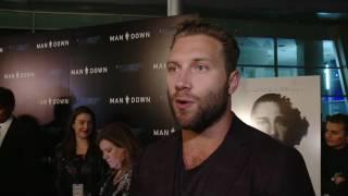 Download Man Down LA Premiere - Jai Courtney Video