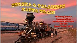 Download Moving Dan Markoff's amazing locomotive Eureka and Palisades #4 to Bolder Nv. Video