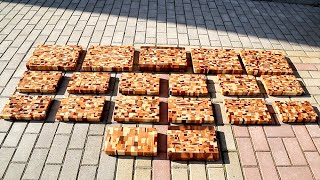 Download End grain cutting boards from scrap wood Video