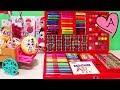 Download Juego gigante para pintar y dibujos para colorear de unicornio | Muñecas y juguetes con Andre Video