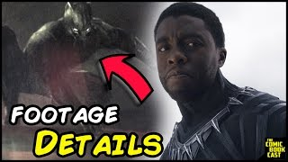 Download Black Panther Footage Features Major Comic Character & Details Video