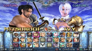 Download Soulcalibur 3 Opening and All Characters [PS2] Video