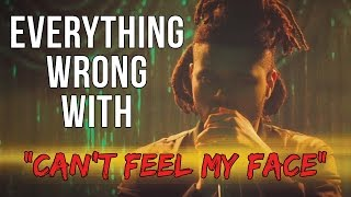 Download Everything Wrong With The Weeknd - ″Can't Feel My Face″ Video