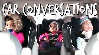 Download Hilarious Kid's Car Conversation - November 23, 2016 - ItsJudysLife Vlogs Video
